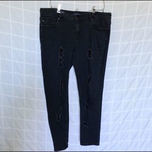 Vigoss Jagger Super Skinny Distressed Jeans